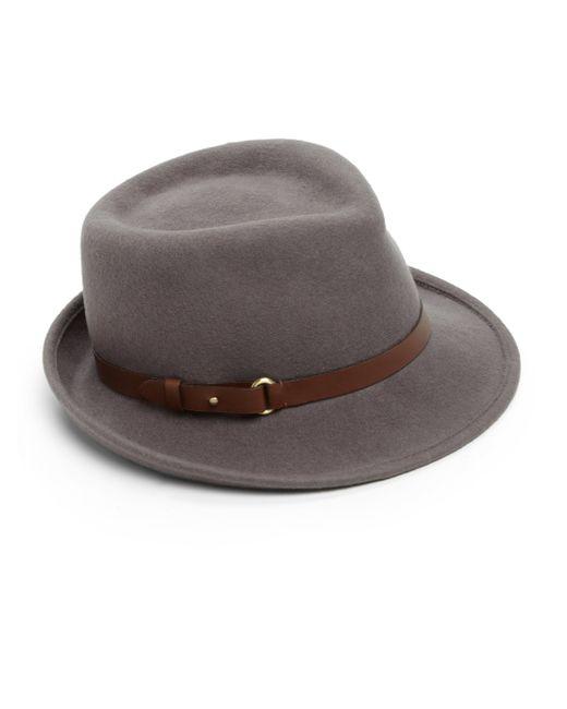 Eric Javits | Brown Classic Wool Fedora | Lyst