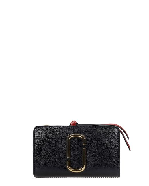 Marc Jacobs Wallet In Black Leather