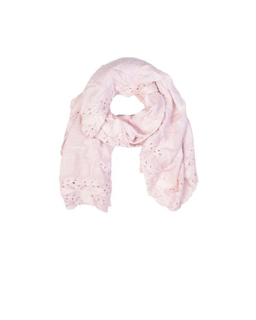 Faliero Sarti   Pink Zamia Scarf With Embroideries   Lyst