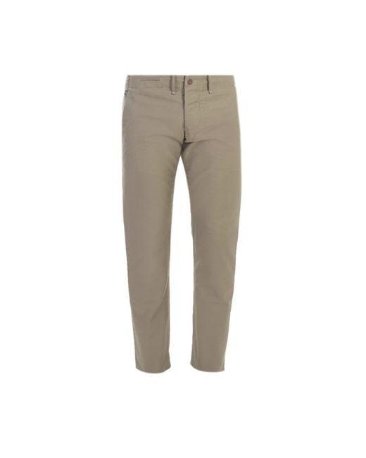 Incotex | Natural Beige Japan Cotton Trousers for Men | Lyst