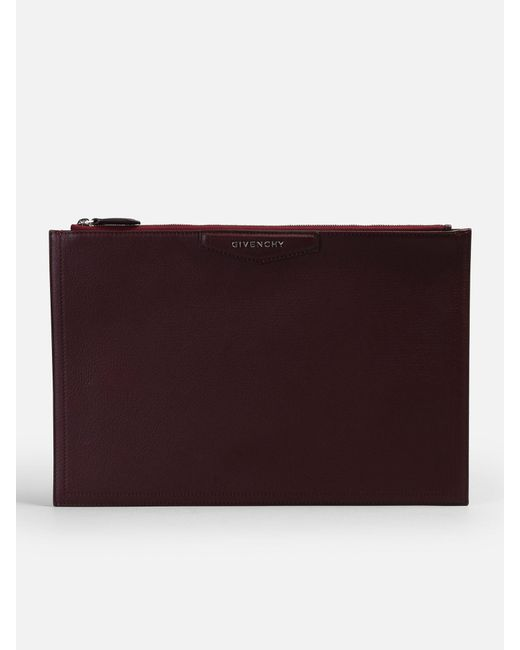 Givenchy - Multicolor Large Antigona Leather Clutch - Lyst