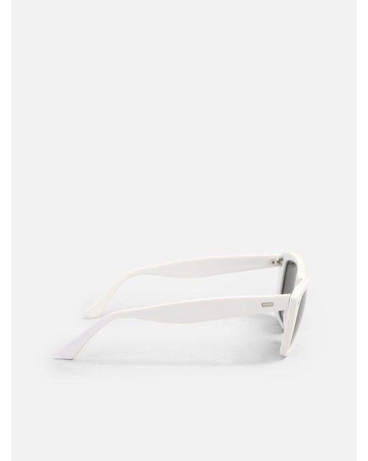 Acne Studios Women's White Acetate Sunglasses