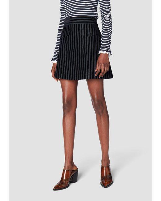 10 Crosby Derek Lam - Blue A-line Mini Skirt - Lyst
