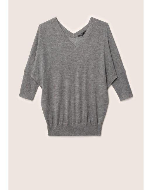 Derek Lam | Gray Batwing Sweater | Lyst