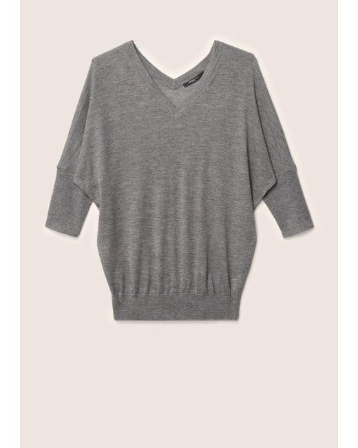 Derek Lam - Gray Batwing Sweater - Lyst