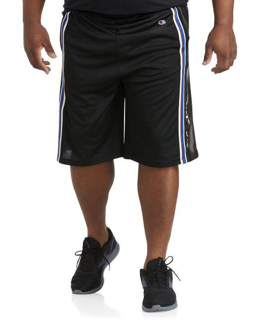 Champion Black Big & Tall Basketball Shorts for men