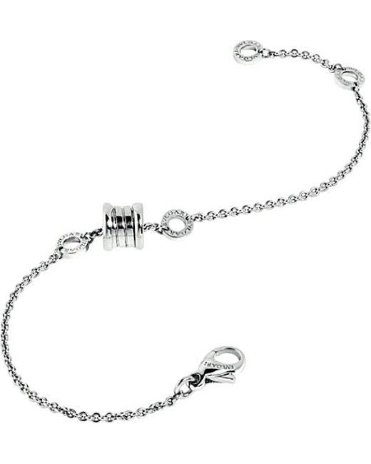BVLGARI | B.zero1 18kt White-gold Bracelet | Lyst