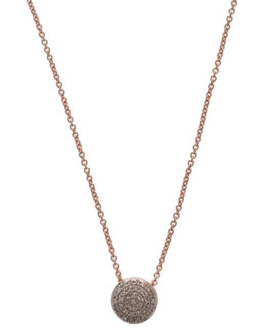 Monica Vinader | Metallic Pave Diamond Chain Necklce | Lyst
