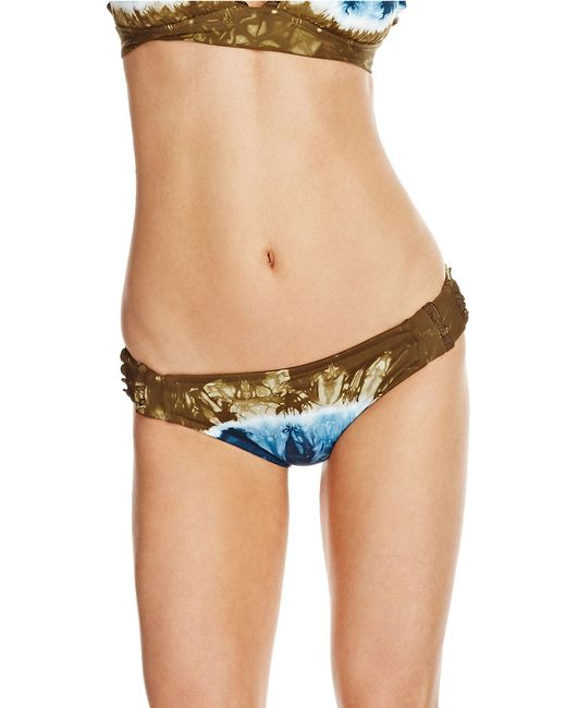 Lucky Brand | Brown Suddenly Summer Tie Dye Swim Hipster | Lyst