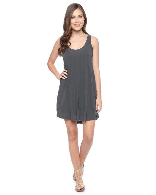 Splendid | Gray Vintage Whisper Swing Dress | Lyst