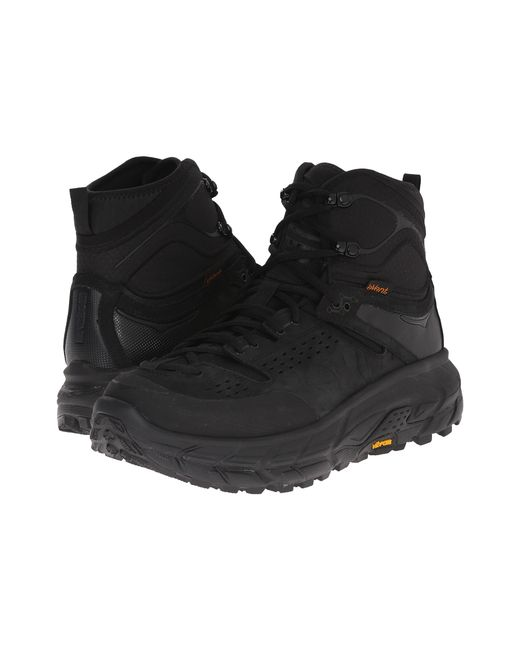 Hoka One One Tor Ultra Hi Wp In Black For Men Lyst