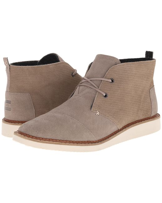 TOMS | Gray Mateo Chukka Boot for Men | Lyst