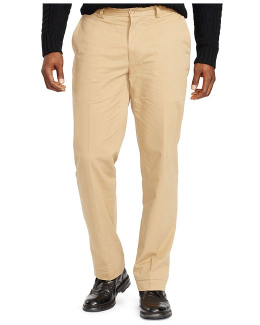 Polo Ralph Lauren Big And Tall Classic Fit Stretch Chino