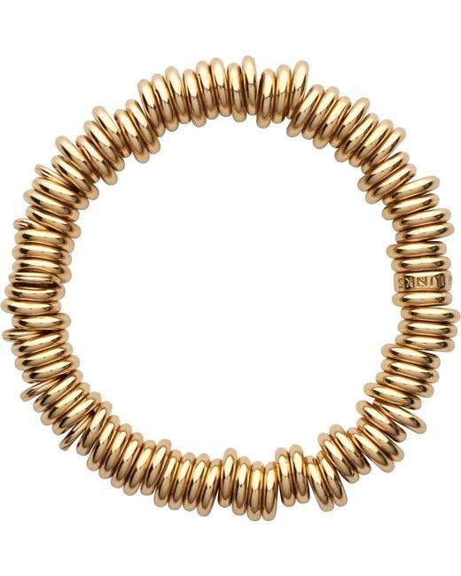 Links of London   Metallic 18-carat Gold Rolled Sweetie Bracelet   Lyst
