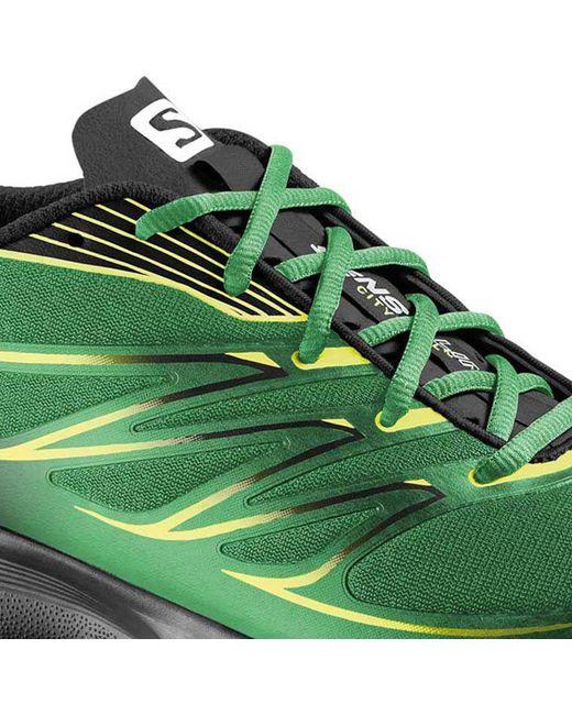 f03266c8c206 ... Yves Salomon - Green Sense Link Trail Running Shoes for Men - Lyst ...