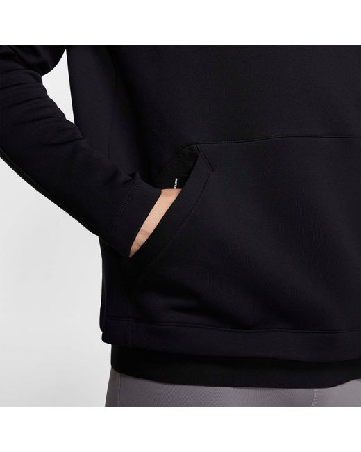 Nike Pro Pullover Fleece Hoodie (black) - Clearance Sale for men