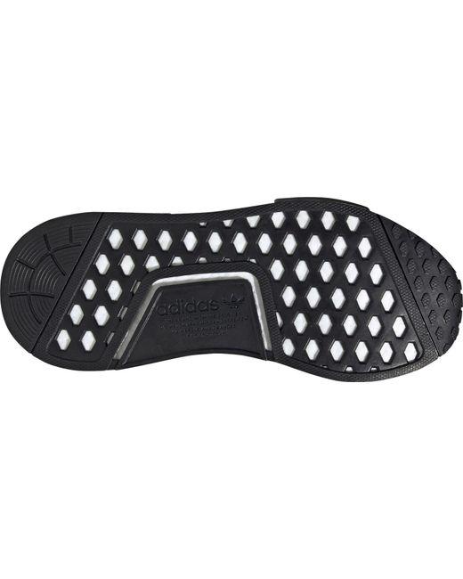 Adidas Originals Nmd R1 Shoes In Grey Silver Gray Lyst