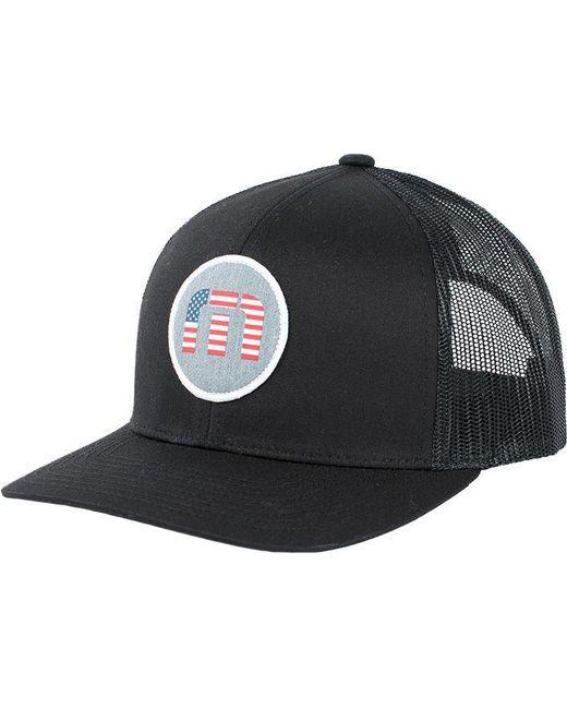 ... Travis Mathew - Black Clearly Golf Hat for Men - Lyst 1fb651020584