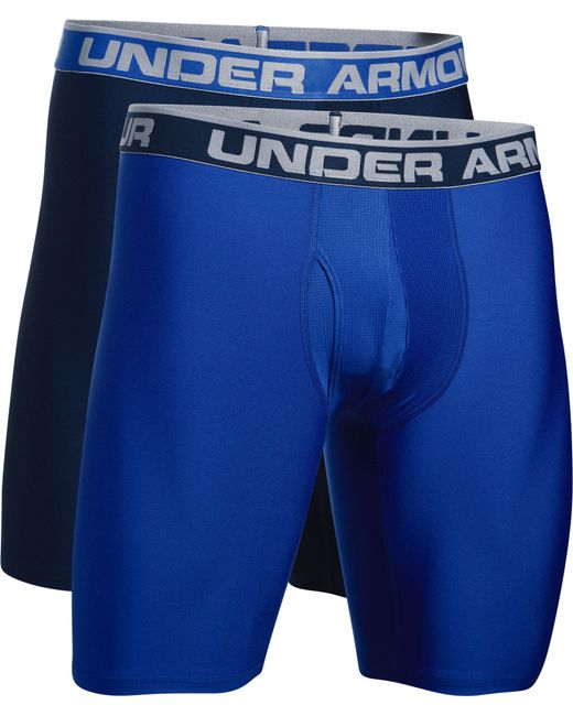 Under Armour - Blue 2-pack Boxerjock® Boxer Briefs for Men - Lyst