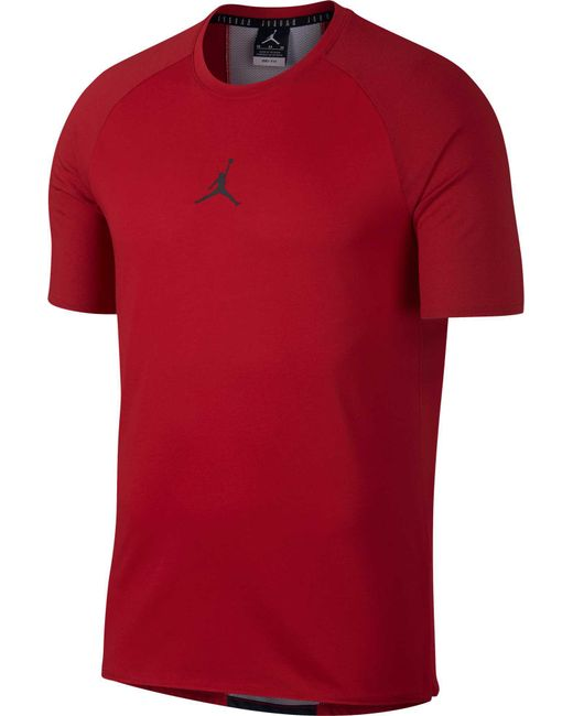 22f1052a Nike - Red Dry 23 Alpha Training T-shirt for Men - Lyst ...