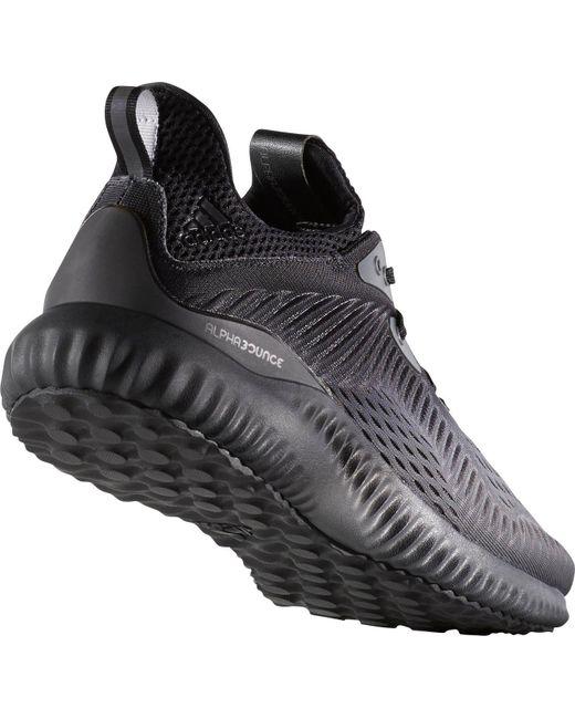 Lyst adidas alpha salta le scarpe da corsa in nero per salvare il 32% uomini