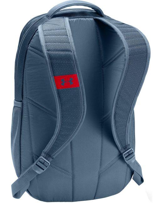 2956f66c8af1 ... Under Armour - Blue Hustle 3.0 Backpack - Lyst ...
