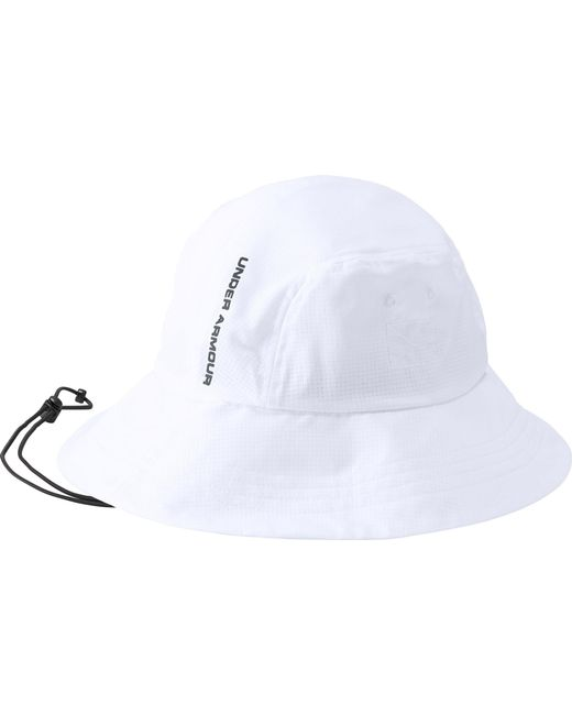 bad5e609e9d ... new zealand under armour white armourvent warrior 2.0 bucket hat for men  lyst 0f58a 92f97