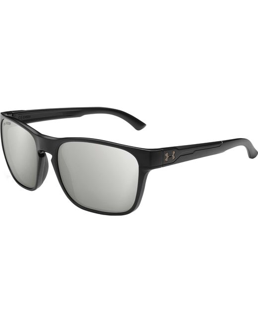 4da57d0fe05 Under Armour - Black Glimpse Polarized Sunglasses for Men - Lyst ...