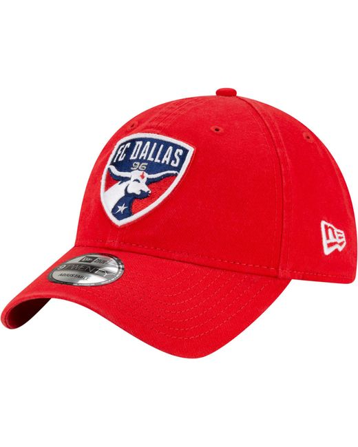 KTZ Fc Dallas Red Core Classic 9twenty Adjustable Hat for men