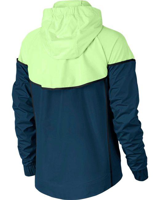 7a86df3fd9 ... Nike - Blue Sportswear Windrunner Jacket - Lyst