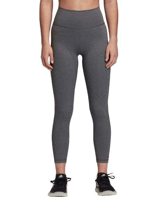 Adidas Gray Believe This 2.0 7/8 Tights