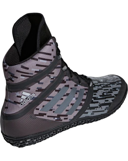 ... Adidas - Black Impact Wrestling Shoes for Men - Lyst ... f2dba6881