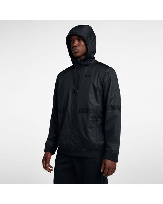 de8a9b7a5697 ... Nike - Black Lebron Streetwear Jacket for Men - Lyst ...