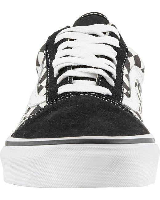 8db6eaec0c ... Vans - Black Old Skool Skate Shoes for Men - Lyst ...