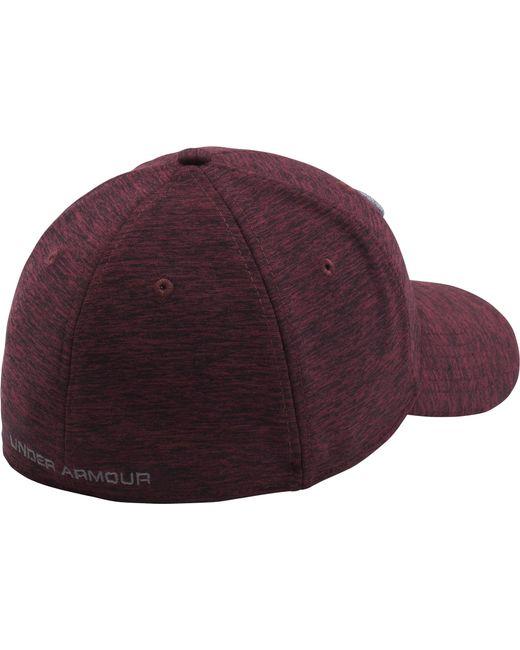... Under Armour - Purple Twist Print Tech Closer Hat for Men - Lyst ... 43ead641653