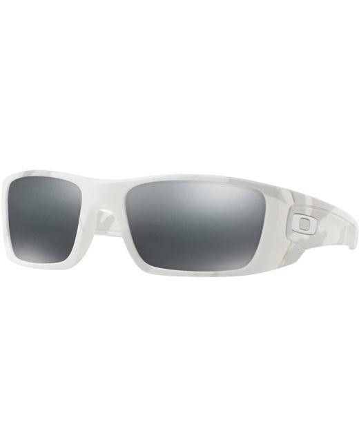 c71c4744849 ... Oakley - Black Fuel Cell Sunglasses for Men - Lyst