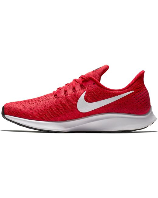best website 1de71 7d6c6 ... Nike - Red Air Zoom Pegasus 35 Running Shoes for Men - Lyst ...
