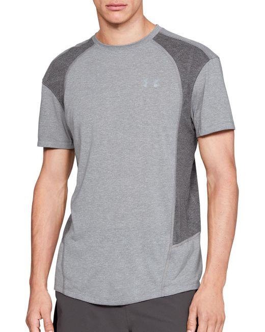 Under Armour - Gray Threadborne Microthread Swyft Running T-shirt for Men - Lyst