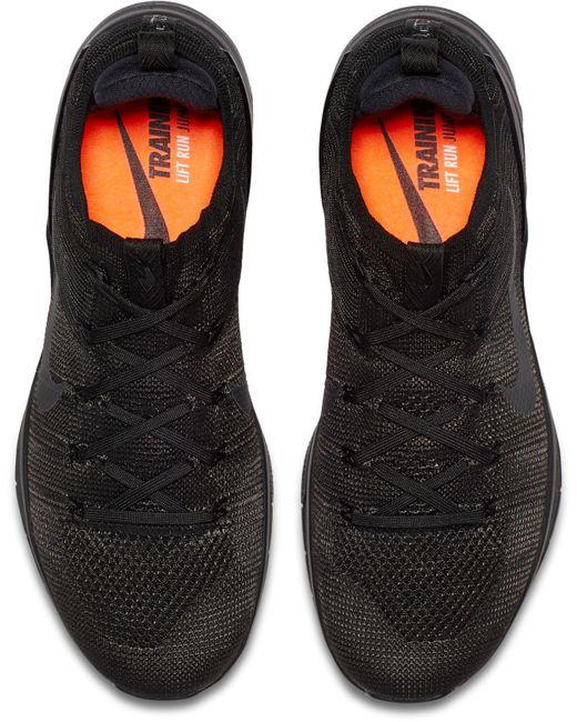 big sale b54ae 5fb58 ... Nike - Black Metcon Dsx Flyknit 2 Training Shoes for Men - Lyst ...