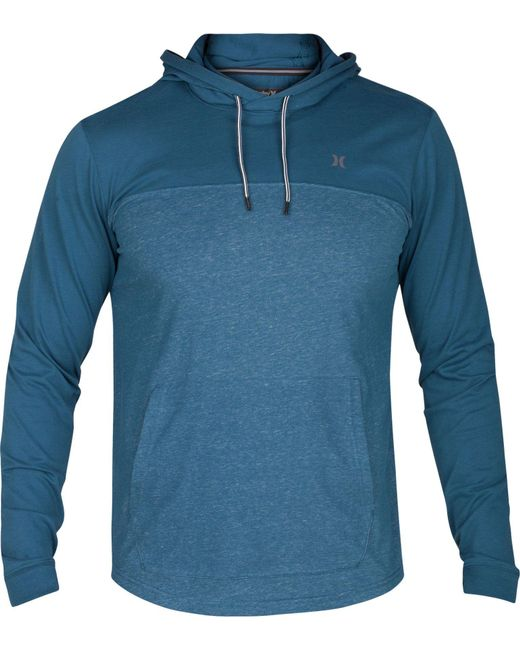 Hurley - Blue Dri-fit Lagos 3.0 Hoodie for Men - Lyst