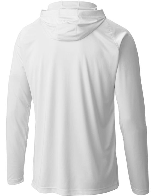 a27cf5171d5 Lyst - Columbia Pfg Terminal Tackle Hoodie in White for Men - Save 30%