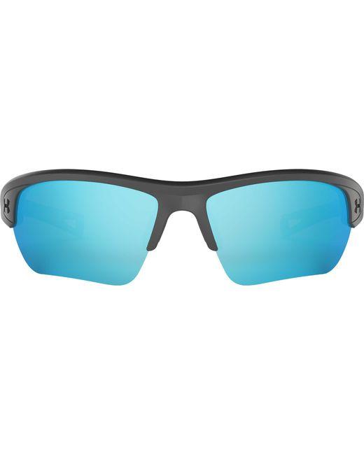 ecee47f11a6 ... Under Armour - Blue Octane Tuned Baseball softball Sunglasses for Men -  Lyst ...
