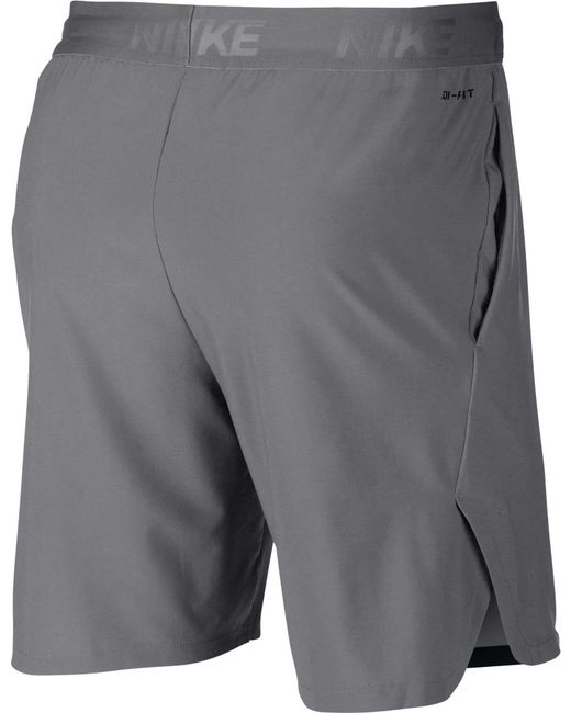ffdb487e2cf35 ... Nike - Gray Flex Vent Max 2.0 Training Shorts for Men - Lyst ...