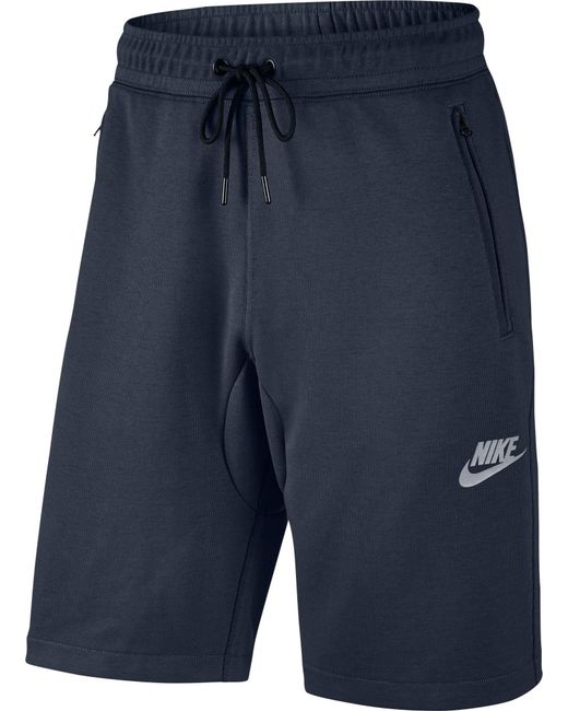 Nike | Blue Sportswear Advance 15 Fleece Sweatshorts for Men | Lyst