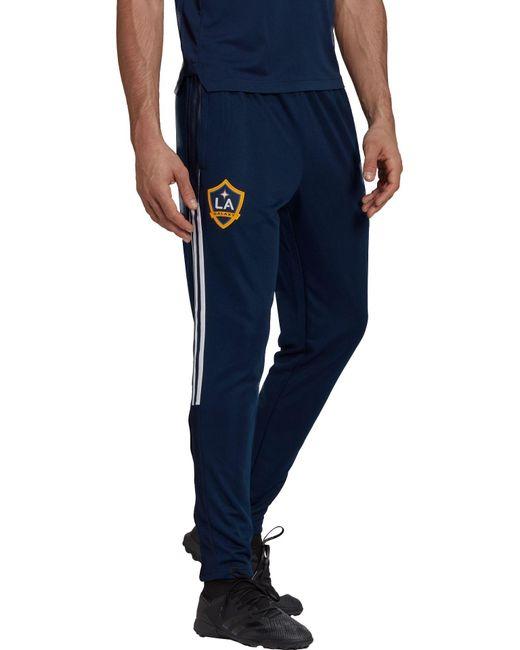 Adidas Blue Los Angeles Galaxy Navy Tiro Pants for men