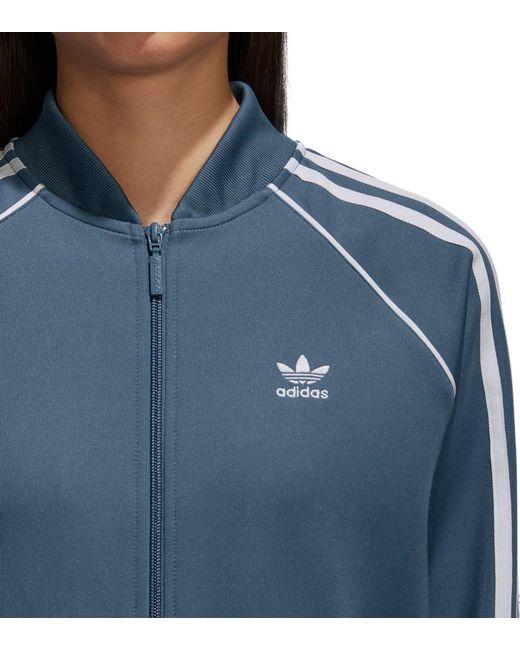Lyst adidas Originals Track chaqueta en azul