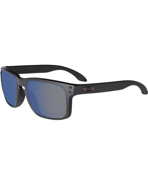 2f81f776dbe6a Oakley - Black Holbrook Polarized Sunglasses for Men - Lyst ...