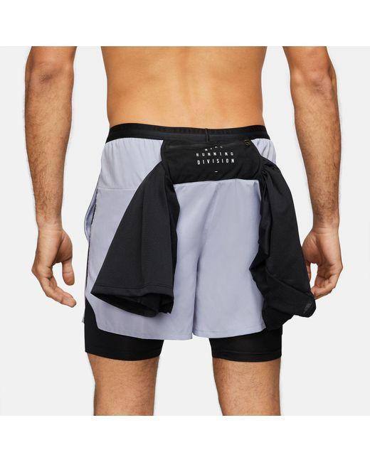 Nike Multicolor Flex Stride Run Division Hybrid Running Short for men