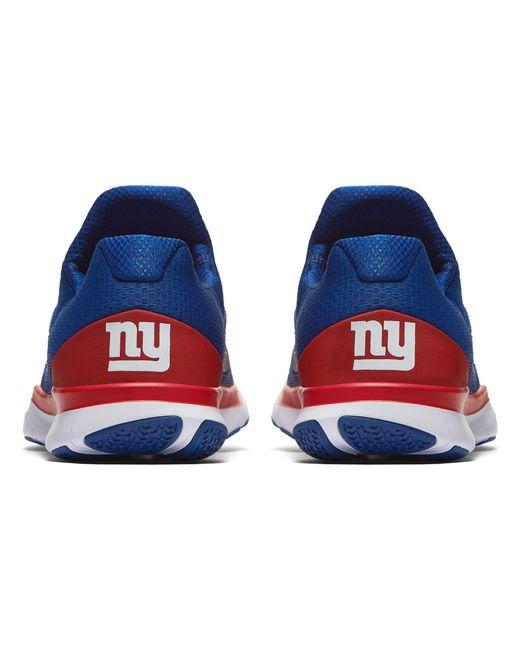 ... Nike - Blue Free Trainer V7 Nfl Giants Training Shoes for Men - Lyst ...