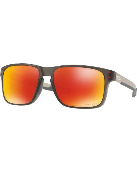 46f7e1673b ... Oakley - Orange Holbrook Mix Polarized Sunglasses for Men - Lyst